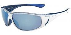 12024 Shiny White/Blue / Polarized Offshore Blue oleo AF