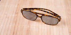 Savannah - P2395 - Demi Havana (Mirrored Polarized)