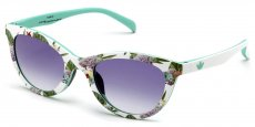 FLO.001 MULTICOLOR/WHITE - SHADED/VIOLET/BLUE