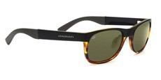 7640 SATIN BLACK/SHINY TORTOISE, POLARIZED 555NM
