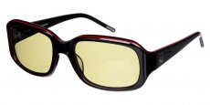 B Black / Red (with Transitions Lenses)