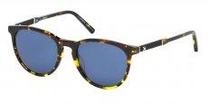55V coloured havana / blue