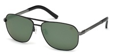02R matte black / green polarized