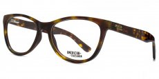 TOR Petite cateye in tortoiseshell with a red interior