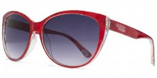 AFS017 Red marble with a transparent interior and smoke grad lenses