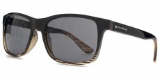 BEN023 Black with stripy brown. Solid smoke lenses