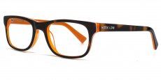 ORG Tortoiseshell with a neon orange interior