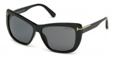 01D shiny black / smoke polarized