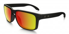 910251 MATTE BLACK / ruby iridium polarized
