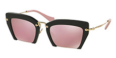 1BO4M2 BLACK SAND/pink mirror gold