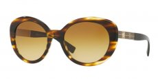 52022L STRIPED HAVANA/yellow gradient