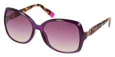 07BW SHINY OPALINE DARK PURPLE/VIOLET GRADIENT PINK