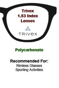 1.53 Trivex Lenses