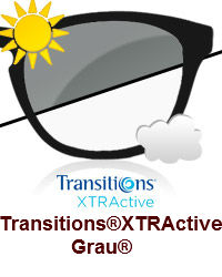 Transitions® XTRActive Grau