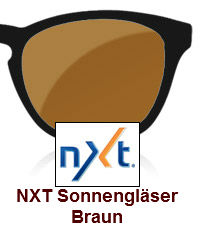 NXT Sonnengläser Braun