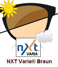 NXT Varia® Photochromatisch Braun