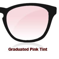 Graduated Pink Tint