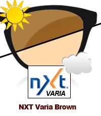 NXT Varia Photochromic Brown Sun Lens