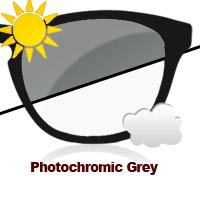Photochromic Grey Sun Lens