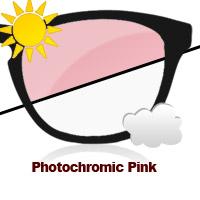 Photochromic Pink Sun Lens