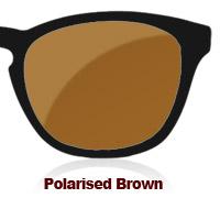 Polarised Brown Sun Lens