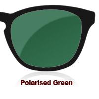 Polarised Green Sun Lens